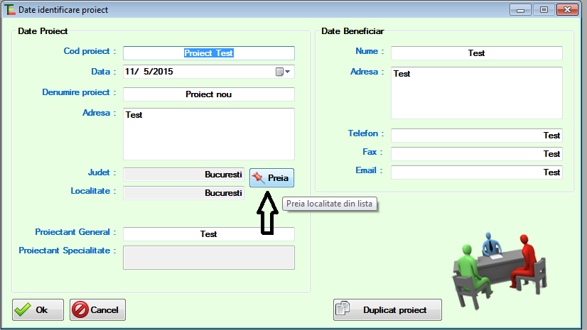 fereastra termoexpert software certificat energetic date identificare proiect